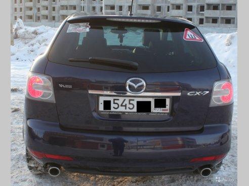 Фото Mazda CX-7 2010 года