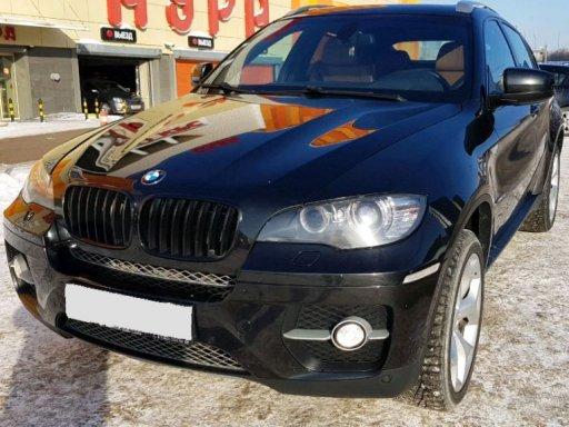 Фото BMW X6 2008 года