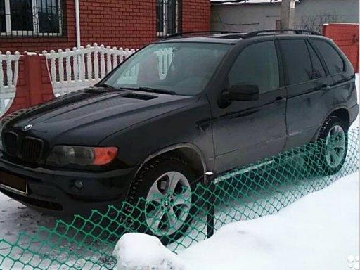 Фото BMW X5 2003 года
