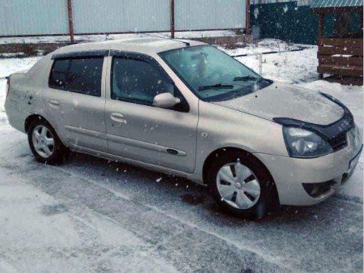 Фото Renault Symbol 2007 года