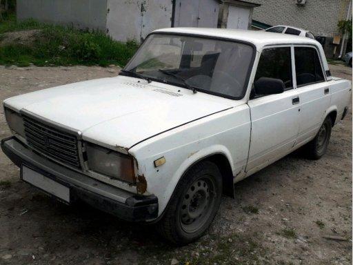 Фото ВАЗ Lada 2107 1998 года