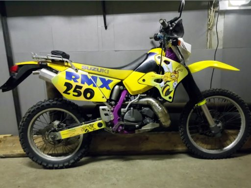 Фото Suzuki RMX 250S 1997 года